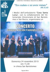 Concerto Ambulatorio: Gruppo Vocale Famiglia Sala