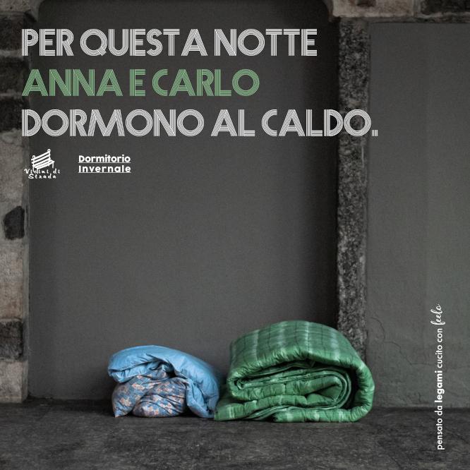 Dormitorio invernale - Emergenza Freddo: San Francesco