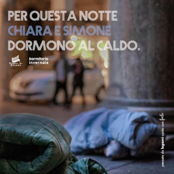 Dormitorio invernale - Emergenza Freddo: Santa Cecilia